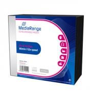 MEDIARANGE CD-R 80' 700MB 52X SLIMCASE PACK X 10 (MR205)