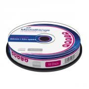 MEDIARANGE CD-R 80' 700MB 52X CAKE BOX X 10 (MR214)